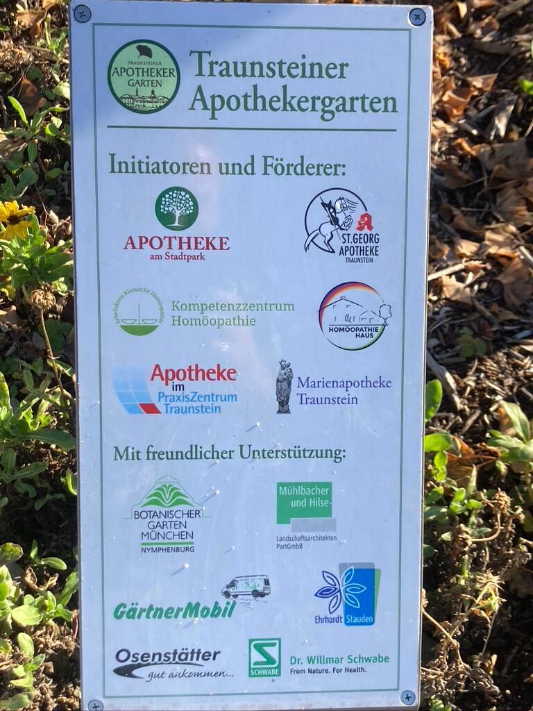 Apothekergarten Traunstein